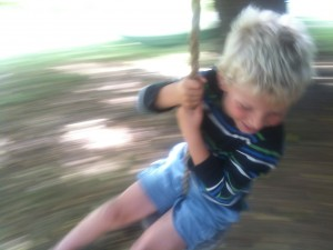 Thanks for reading all our news! Here's a cute kid pic to reward you for your effort. End of summer fun!