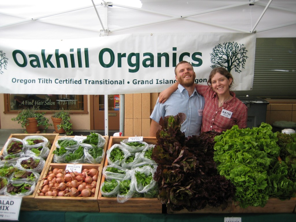 2008 - We had a fabulous three summers selling at the McMinnville Farmers Market (06-08).